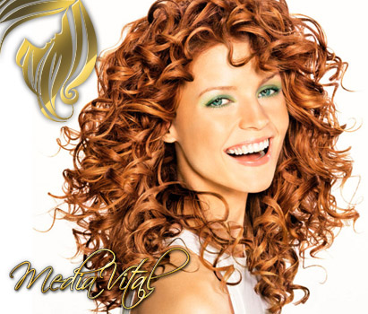» einfache frisuren mit locken - hairstyling & beauty