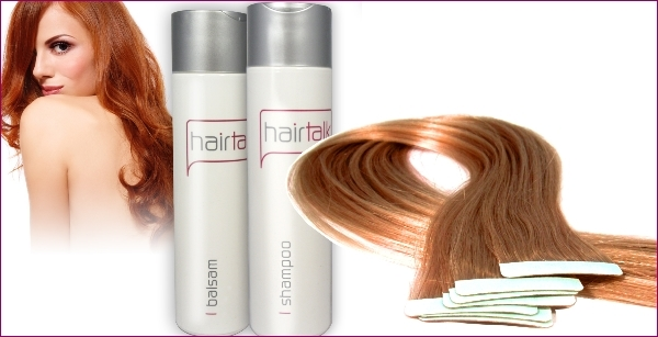 Dry Shampoo On Tape Extensions 70