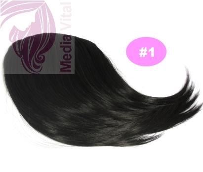 natürlicher Look auch für sehr glatte Haare