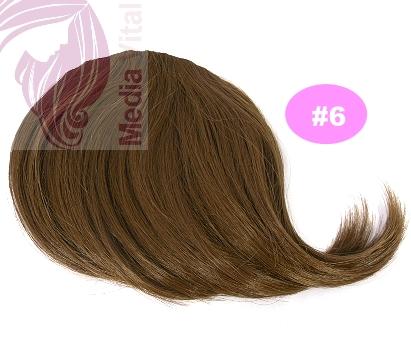 alle mögliche natürliche Nuancen von Haarfarben