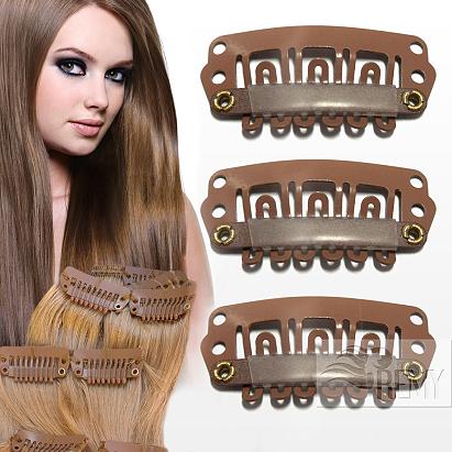 natürlicher Look auch für gefärbte Haare möglich