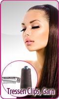 Tressenclips Tressen Garn Haarverlängerung Clip In Extensions Haartressen
