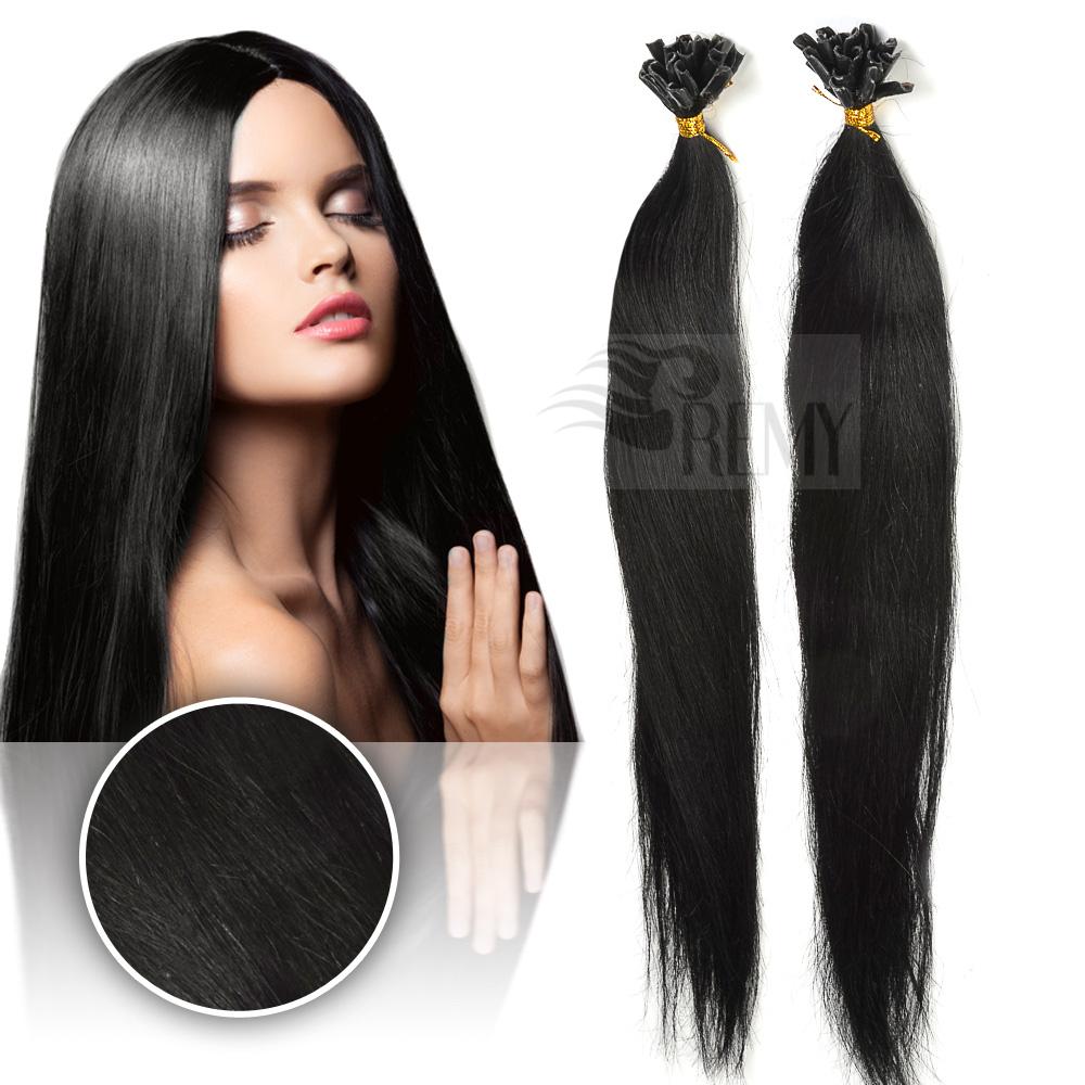 keratin bonding hair extensions 100 remy echthaar str hnen 1 g haarverl ngerung. Black Bedroom Furniture Sets. Home Design Ideas