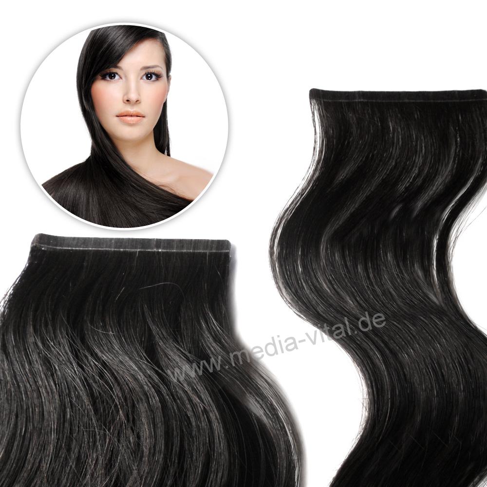 remy echthaar str hnen 8cm breit tape in extensions. Black Bedroom Furniture Sets. Home Design Ideas