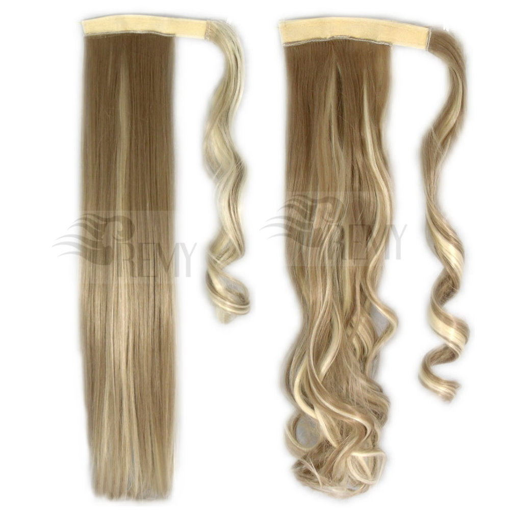 haarteil zopf pferdeschwanz haarverdichtung clip in extensions halb per cke neu ebay. Black Bedroom Furniture Sets. Home Design Ideas