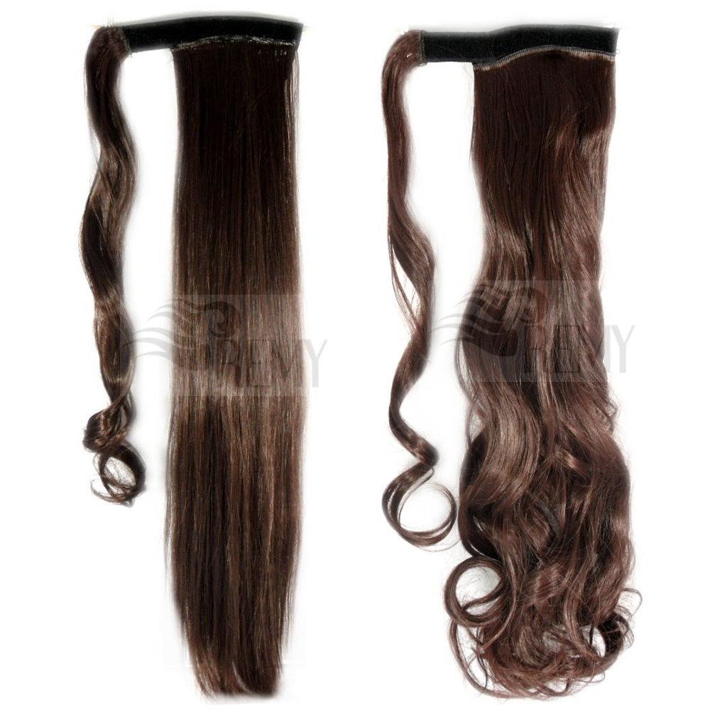 Haarteil Pferdeschwanz Zopf Clip In Extensions Haarverlängerung Haarverdichtung